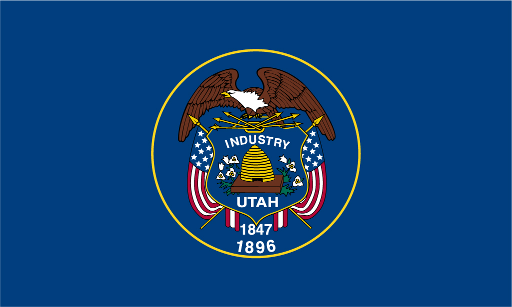 Utah Usa Flag Pictures